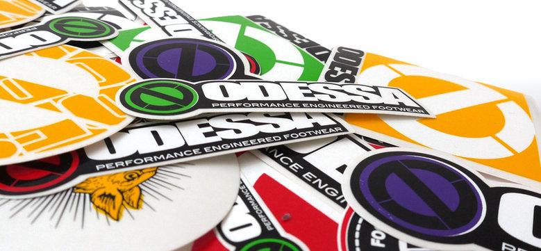 Stickers in alle soorten en maten...